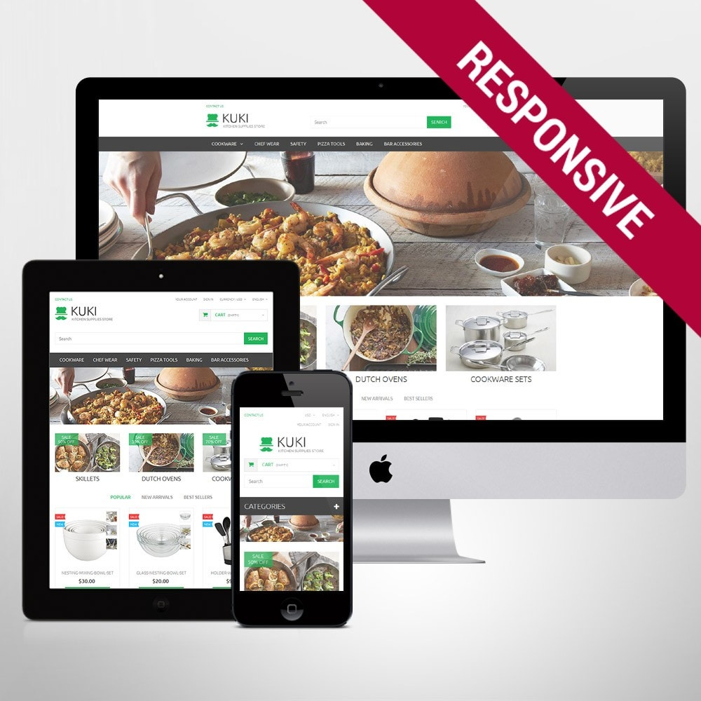 theme - Kultura & Sztuka - Kitchen Supplies Store - 1