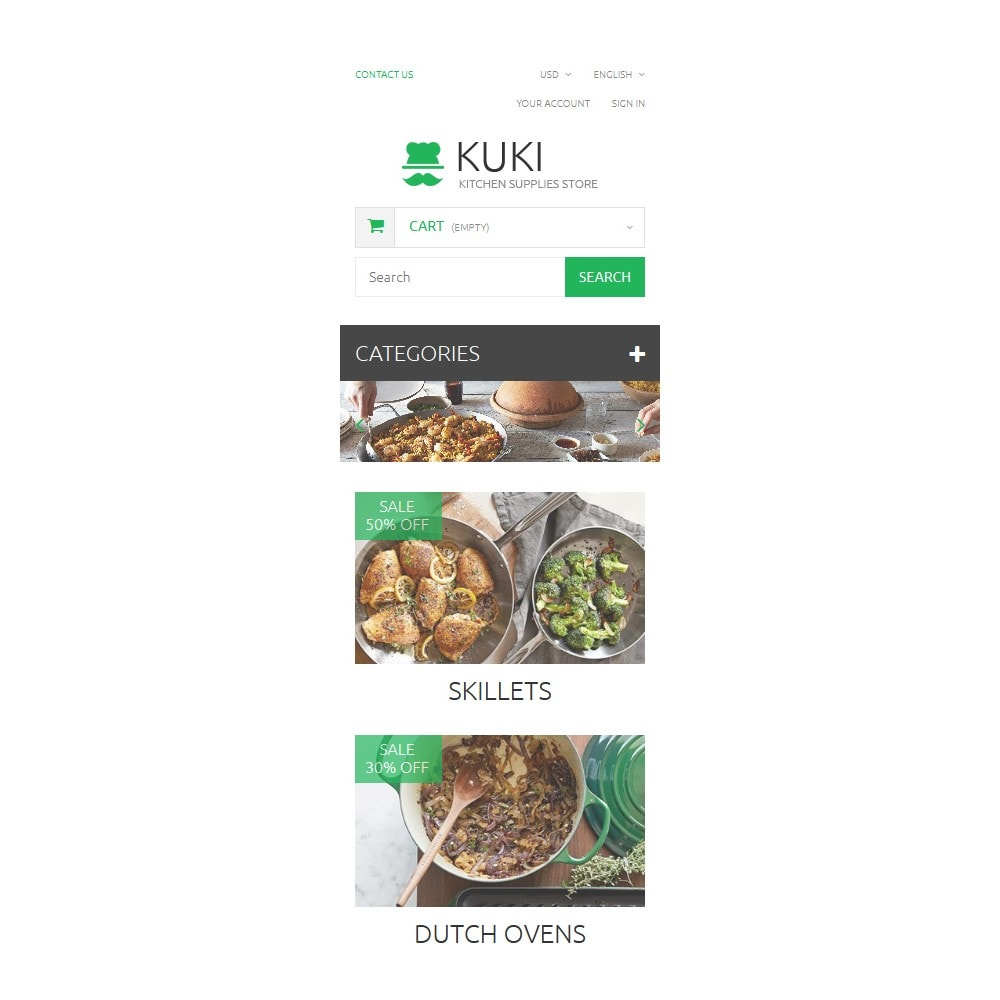 theme - Kultura & Sztuka - Kitchen Supplies Store - 9