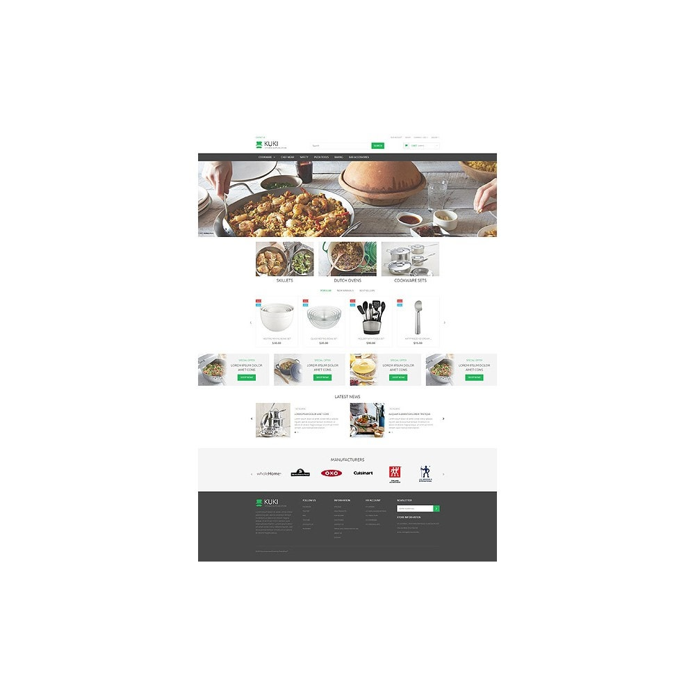 theme - Kultura & Sztuka - Kitchen Supplies Store - 10