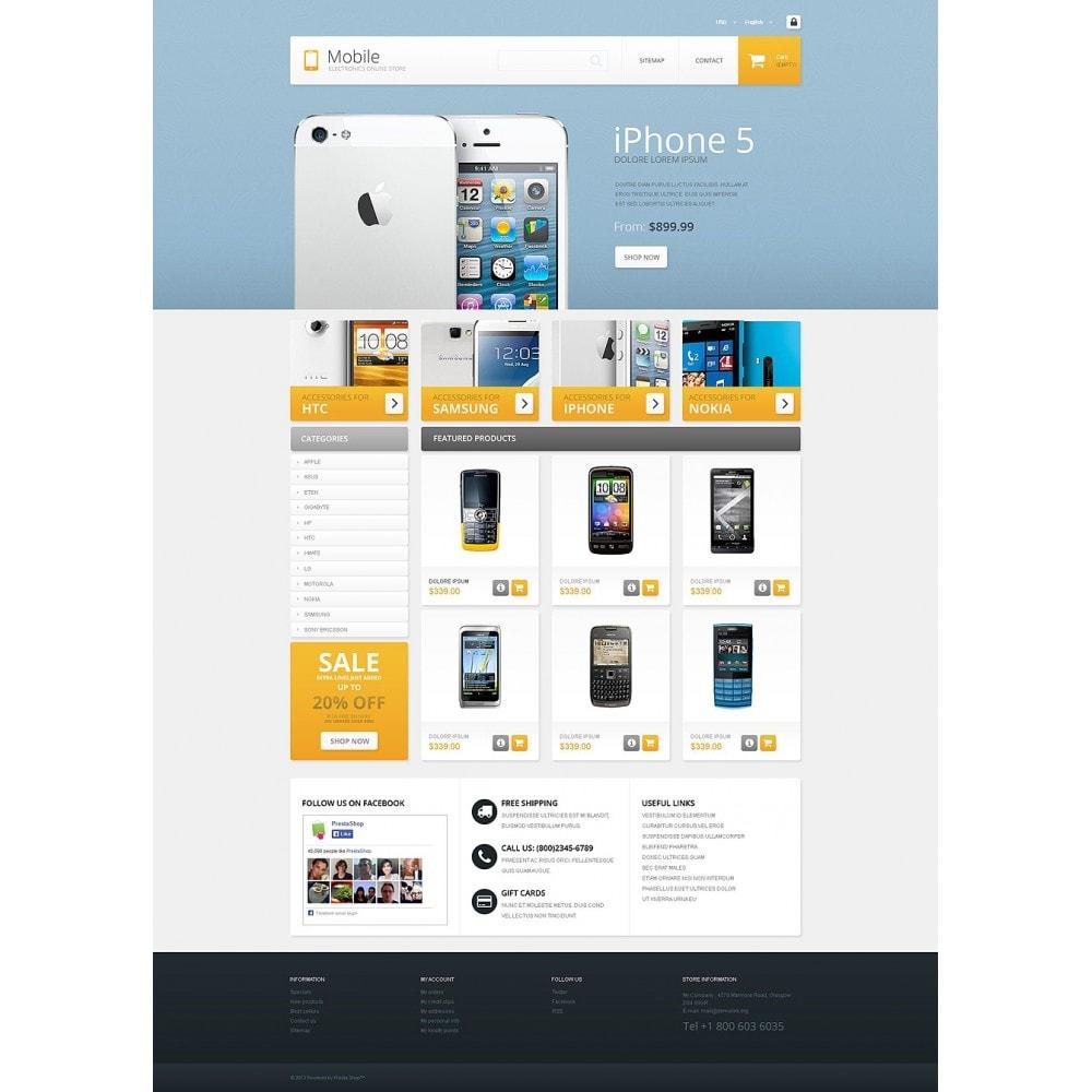 theme - Electrónica e High Tech - Mobile - Electronics Store - 2