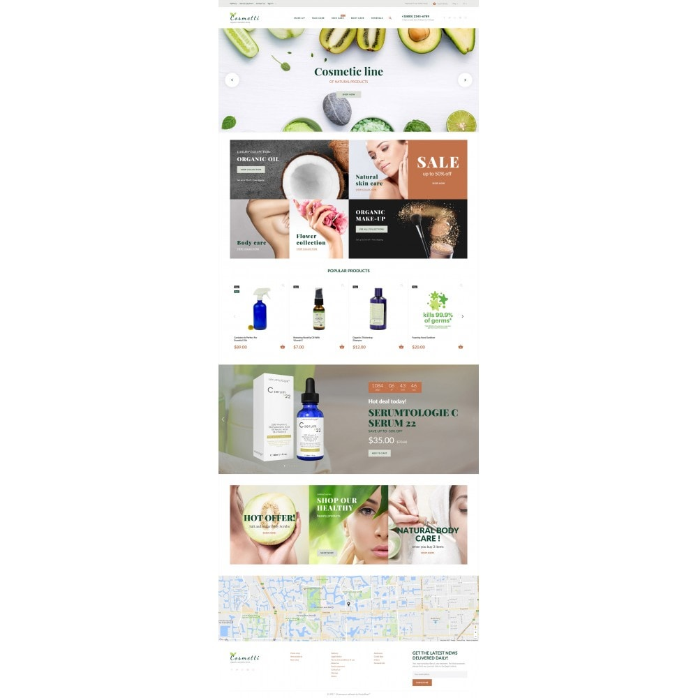 theme - Fashion & Shoes - Cosmetti - Cosmetics Store - 4