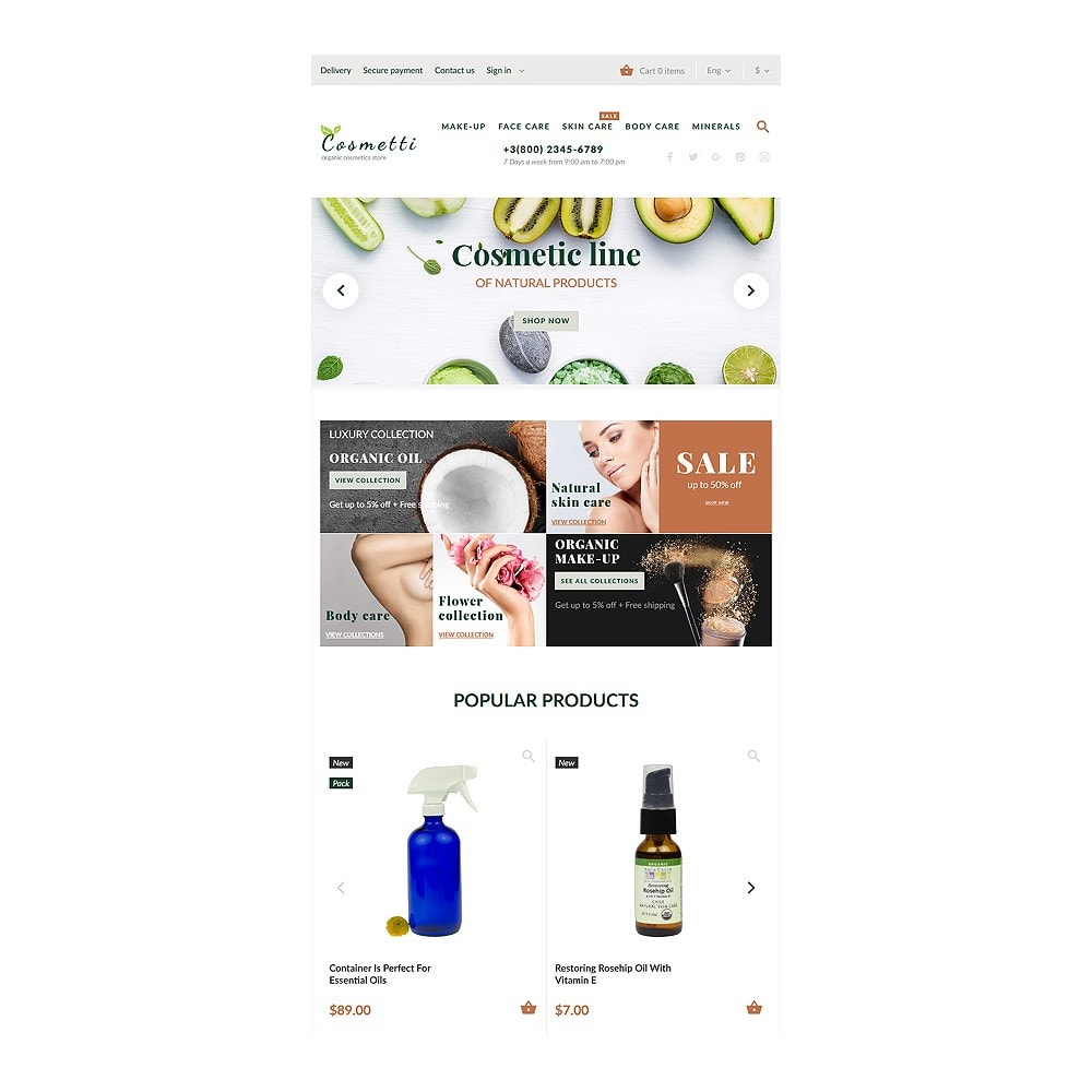 theme - Fashion & Shoes - Cosmetti - Cosmetics Store - 6