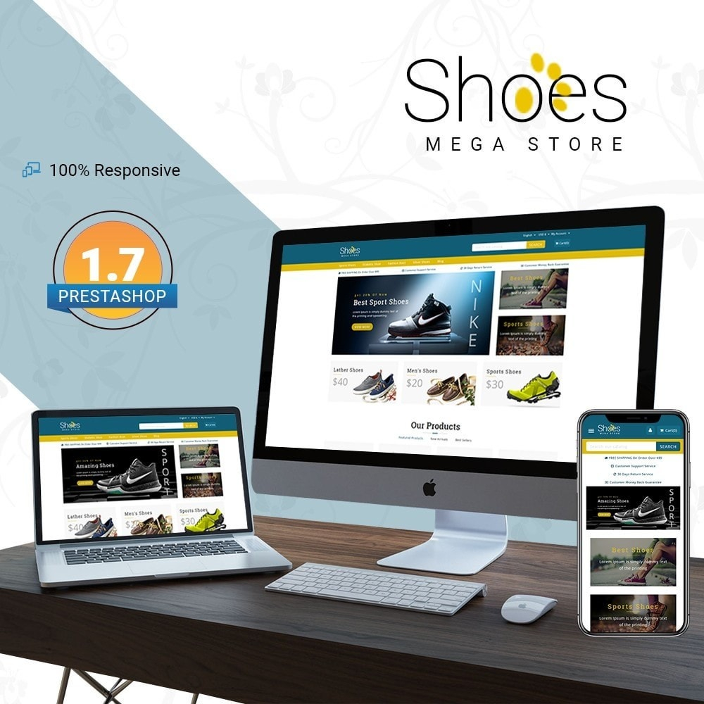 theme - Mode & Chaussures - Shoes Mega Store - 1