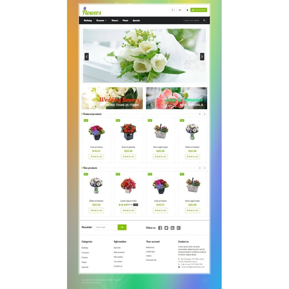 theme - Gifts, Flowers & Celebrations - VP_Flowers Store - 2