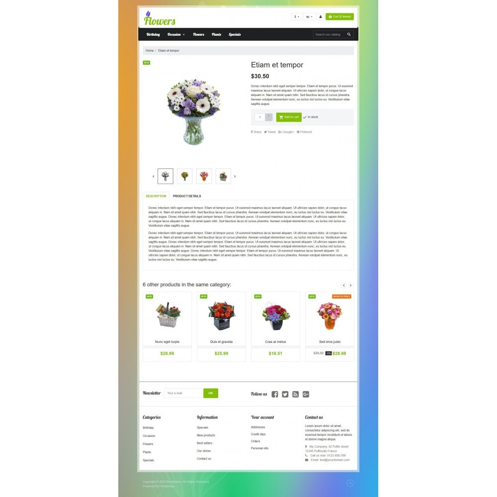 theme - Gifts, Flowers & Celebrations - VP_Flowers Store - 4