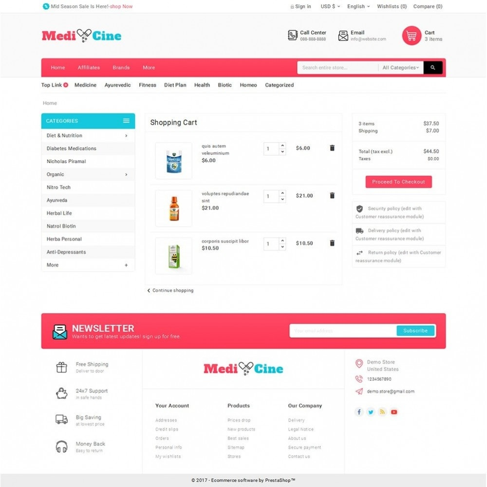 theme - Salud y Belleza - Medicine Mega Store - 7
