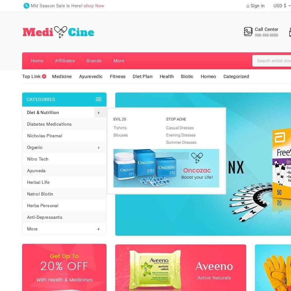 theme - Salute & Bellezza - Medicine Mega Store - 10