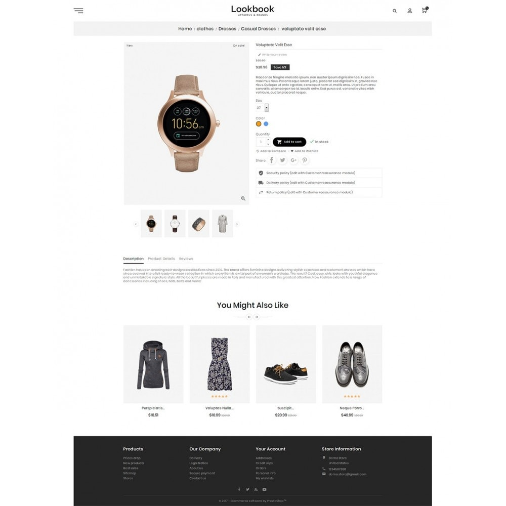 theme - Moda y Calzado - Lookbook Fashion - 6