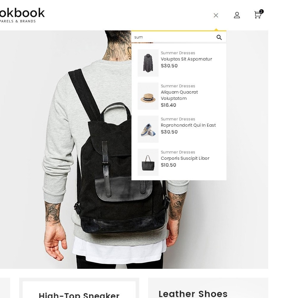 theme - Moda y Calzado - Lookbook Fashion - 11