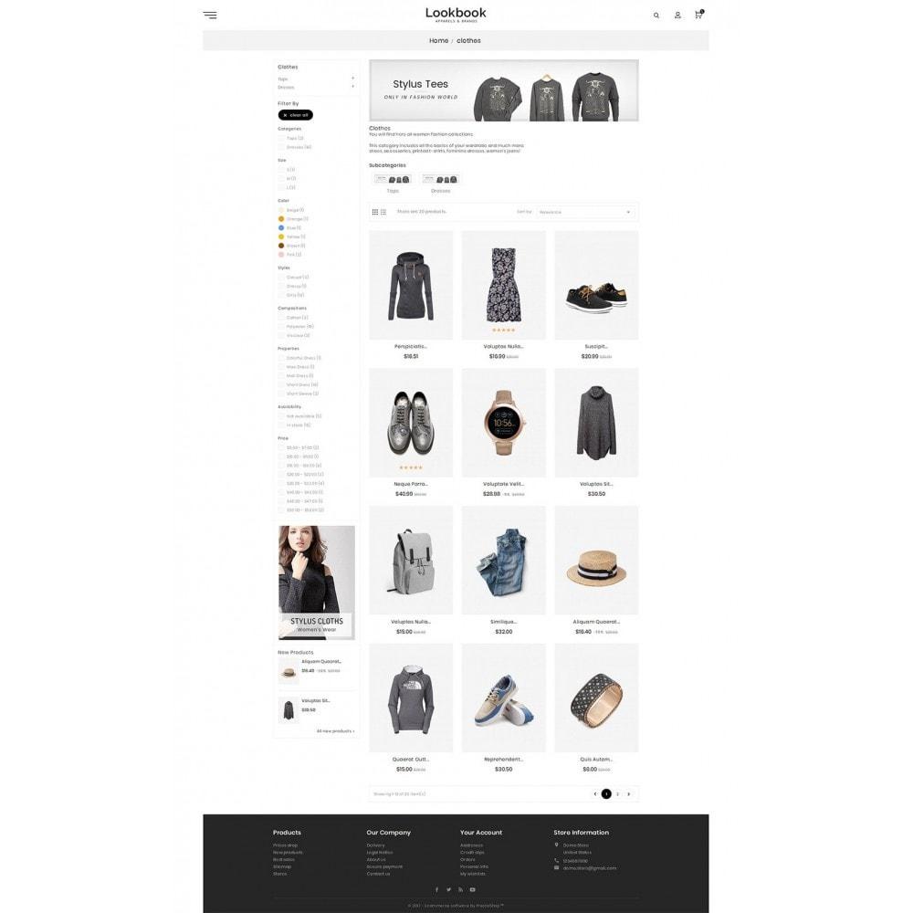 theme - Moda & Calzature - Lookbook Fashion - 4