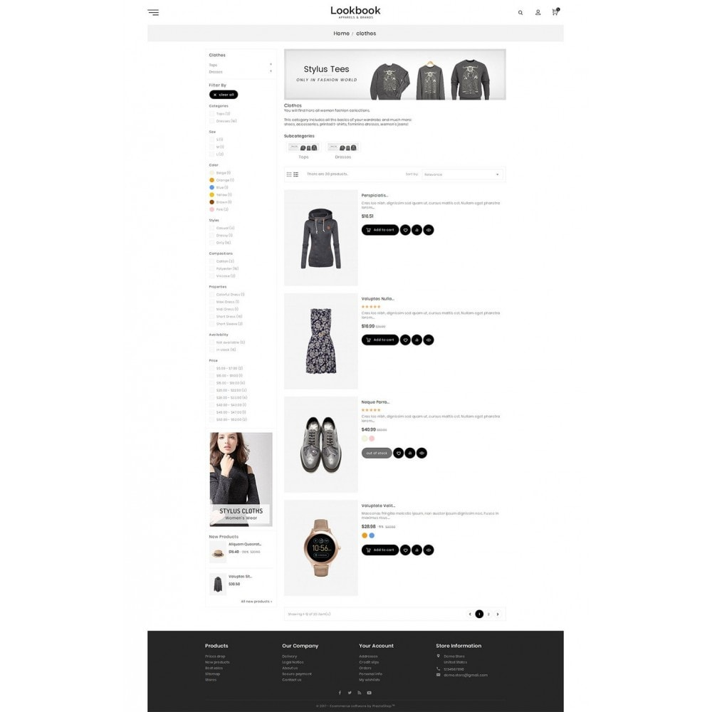 theme - Moda & Calzature - Lookbook Fashion - 5