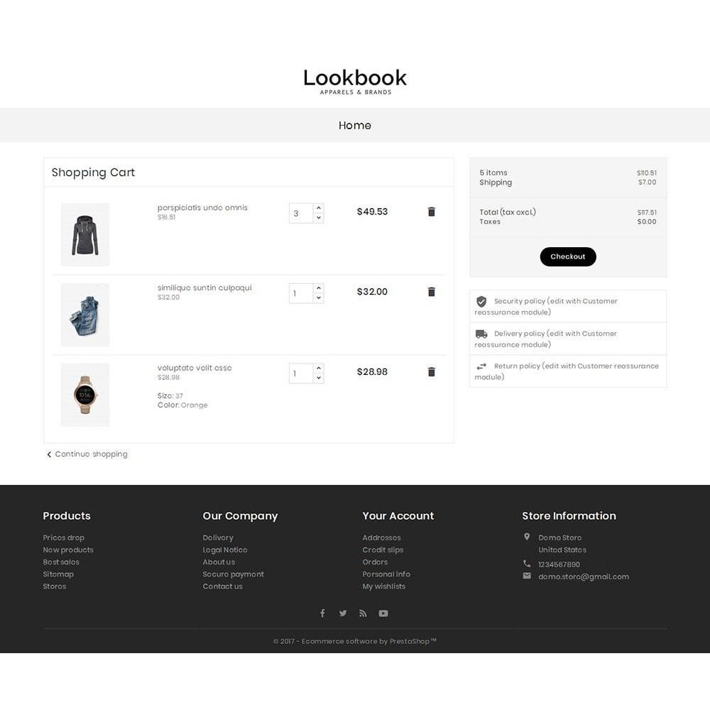 theme - Moda & Calzature - Lookbook Fashion - 8