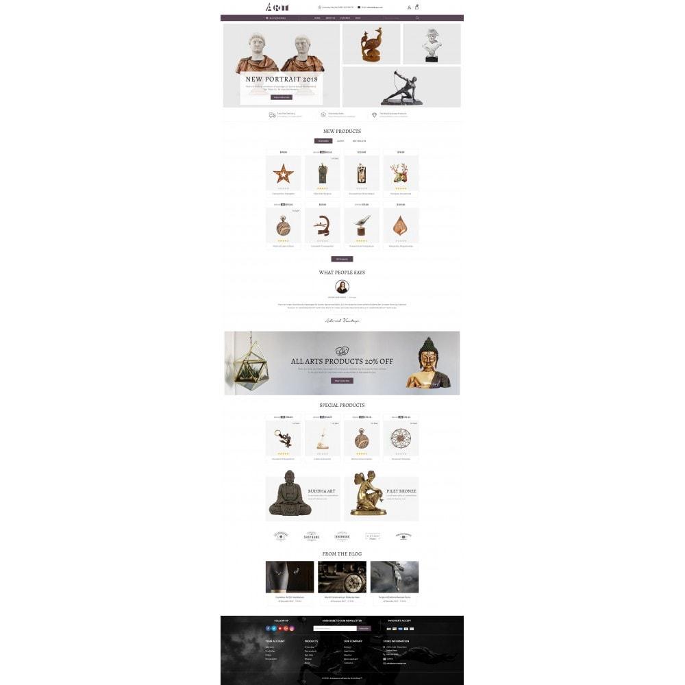 theme - Arte e Cultura - ART Store - 2