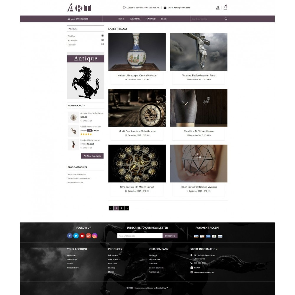 theme - Art & Culture - ART Store - 9
