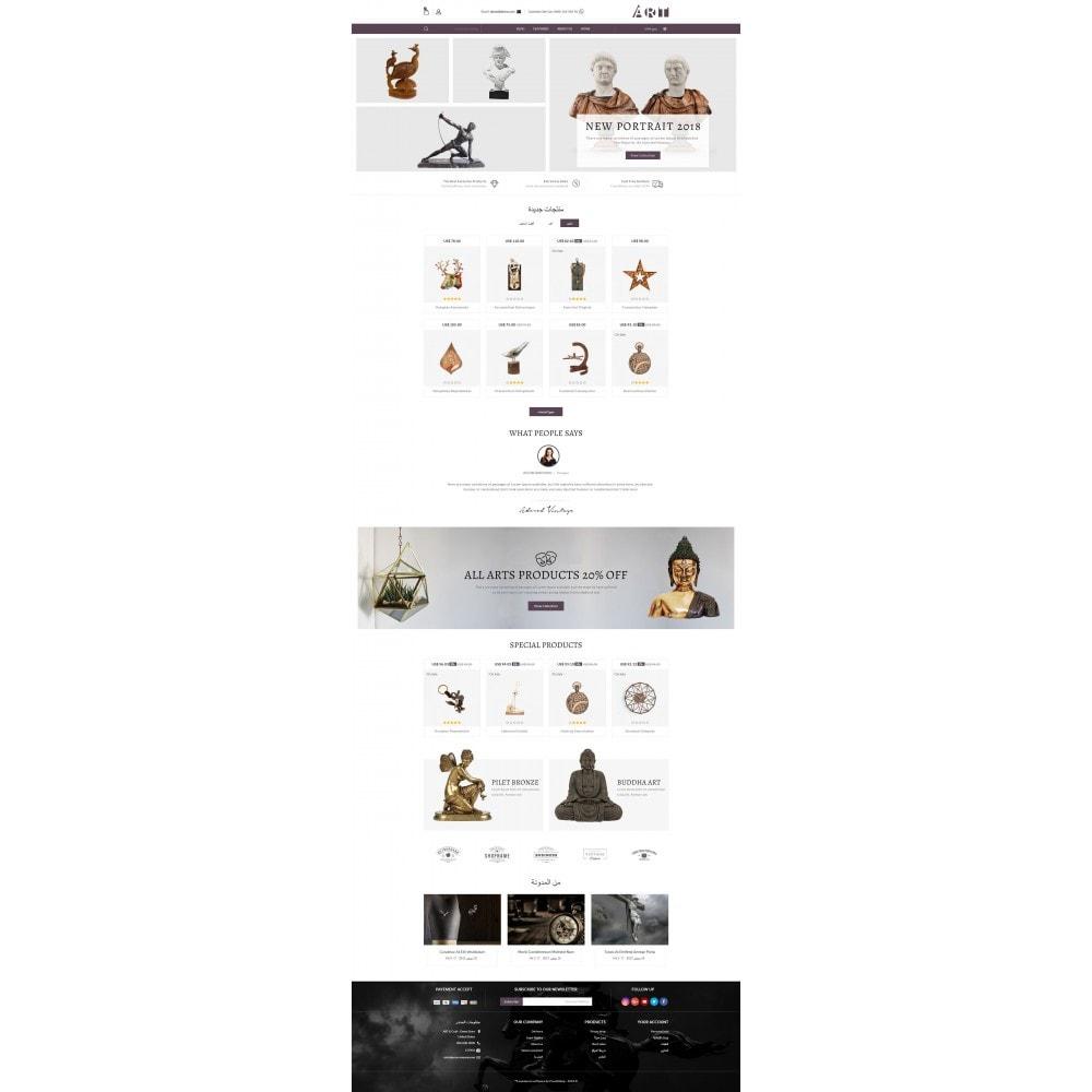 theme - Arte e Cultura - ART Store - 10