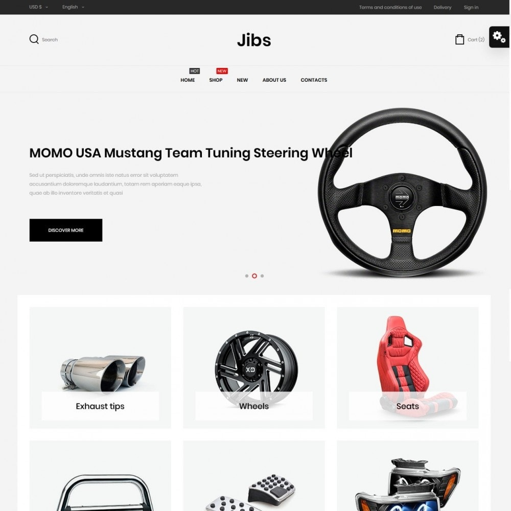 theme - Automotive & Cars - Jibs - 2