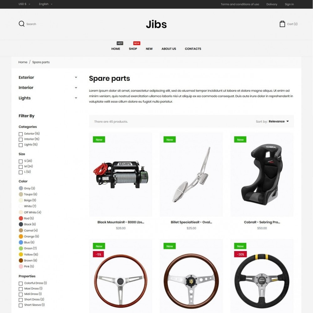 theme - Automotive & Cars - Jibs - 5