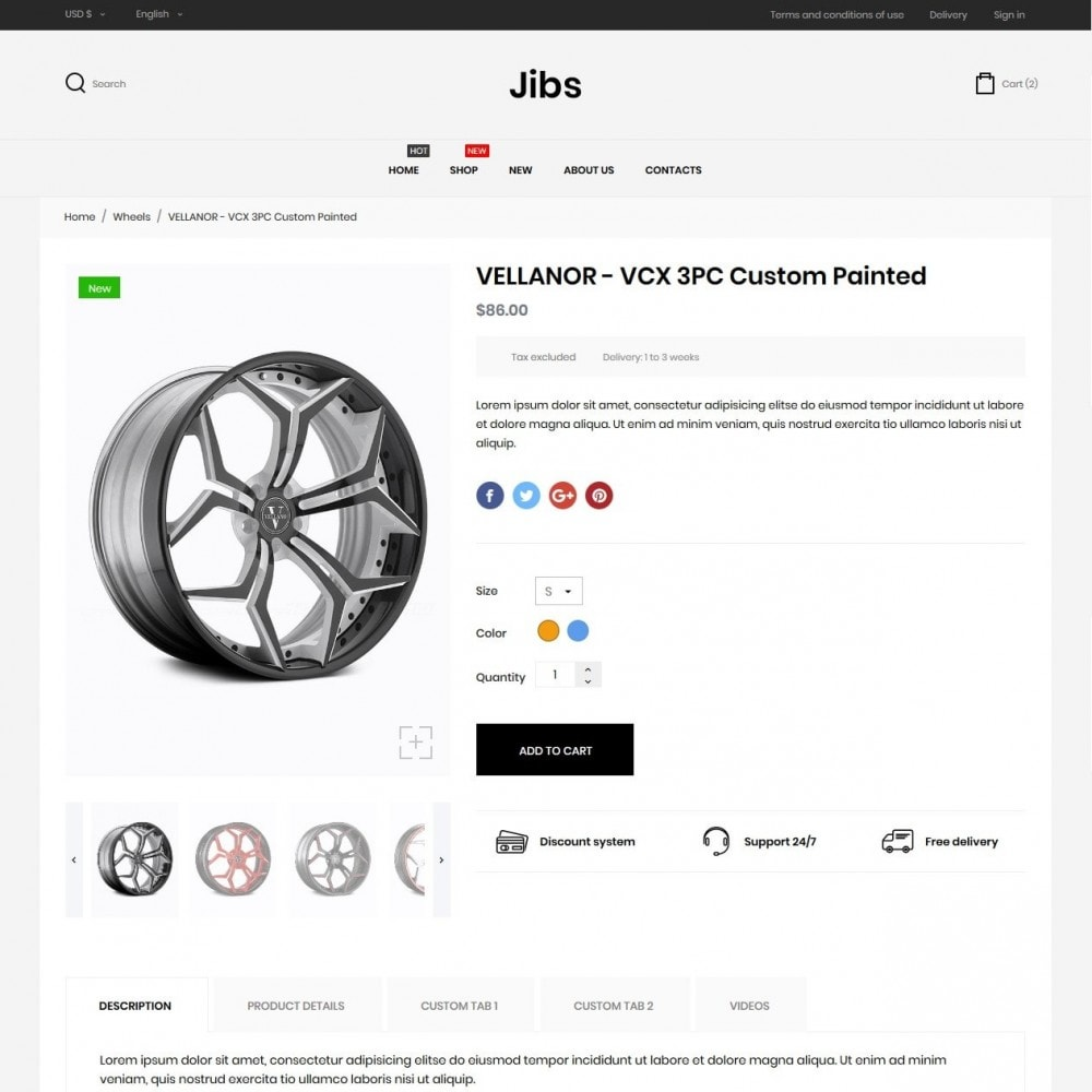 theme - Automotive & Cars - Jibs - 6