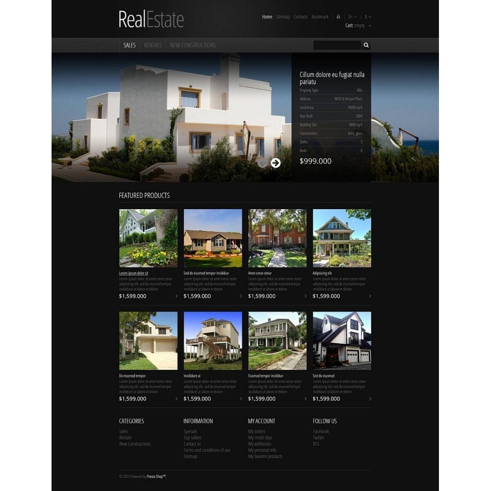 theme - PrestaShop Themen - Responsive Real Estate Store - 2