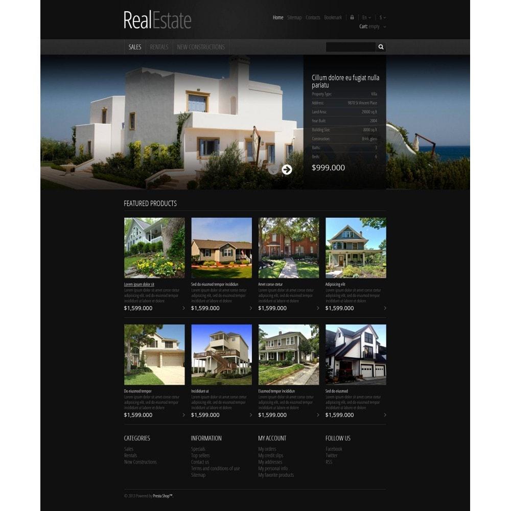 theme - PrestaShop Themen - Responsive Real Estate Store - 4