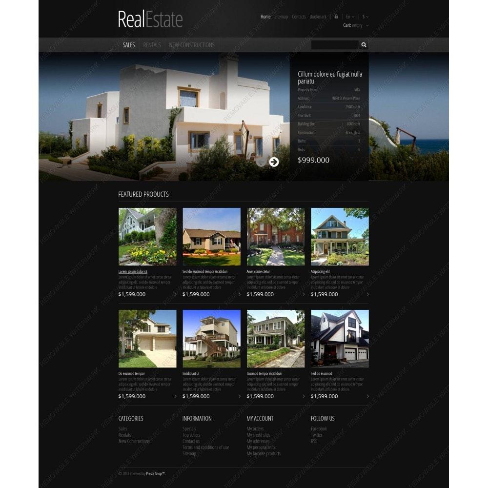 theme - PrestaShop Themen - Responsive Real Estate Store - 5