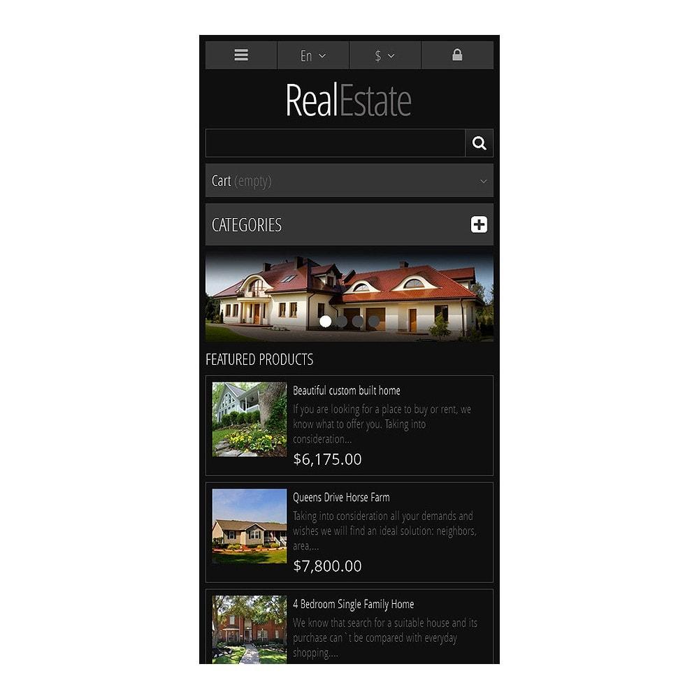 theme - PrestaShop Themen - Responsive Real Estate Store - 8