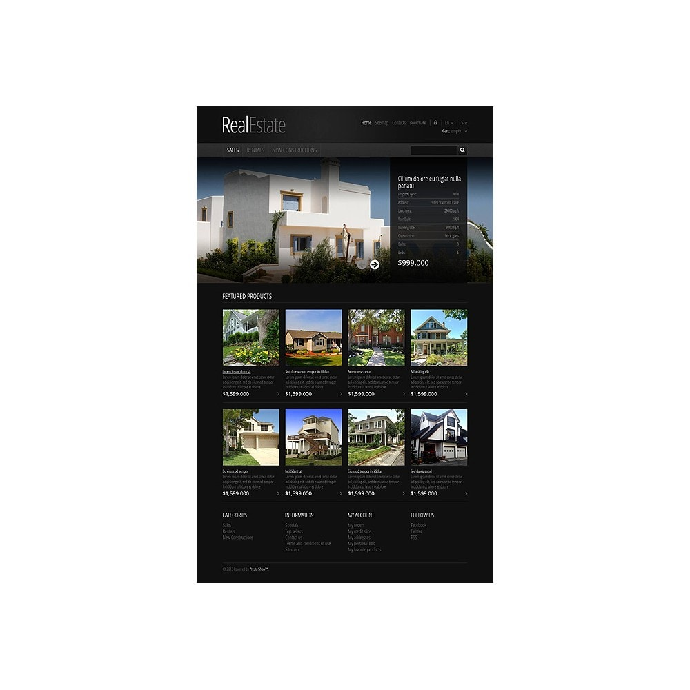 theme - PrestaShop Themen - Responsive Real Estate Store - 10