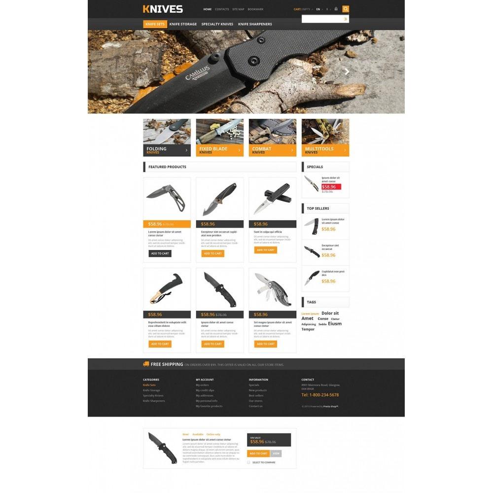 theme - Temas PrestaShop - Responsive Knives Store - 2