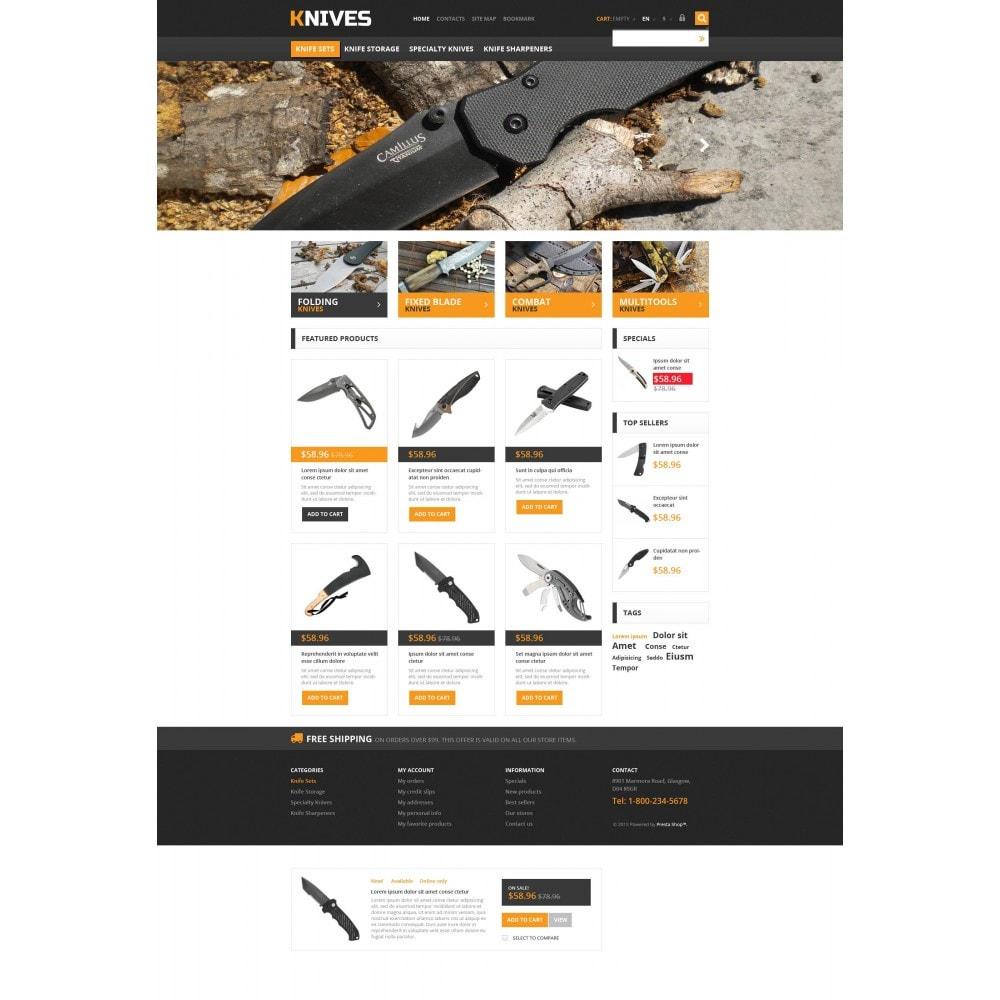 theme - Temas PrestaShop - Responsive Knives Store - 4