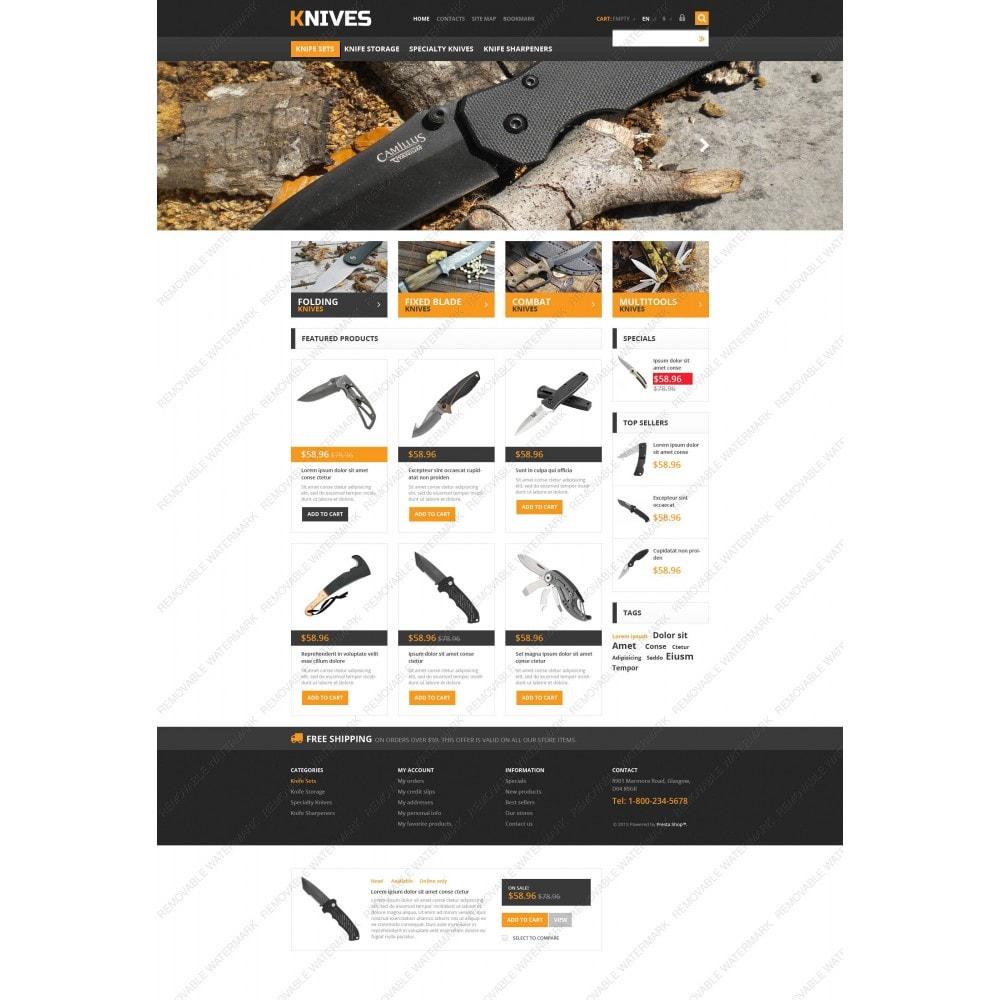 theme - Temas PrestaShop - Responsive Knives Store - 5