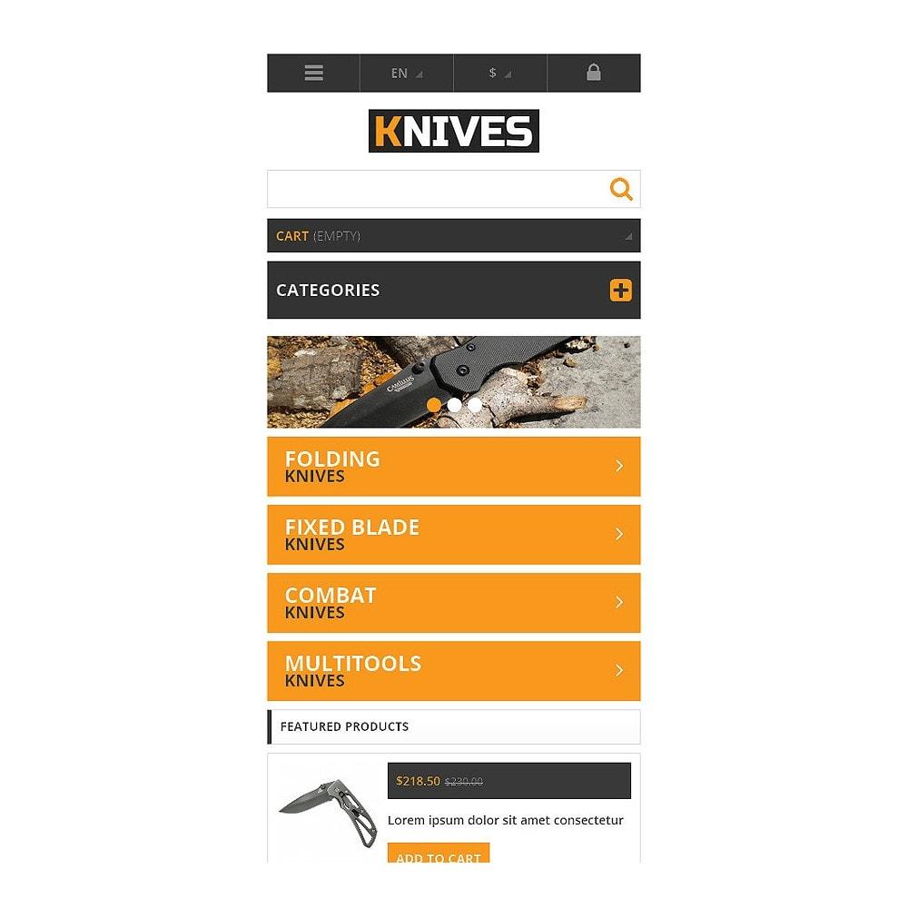 theme - Temas PrestaShop - Responsive Knives Store - 8