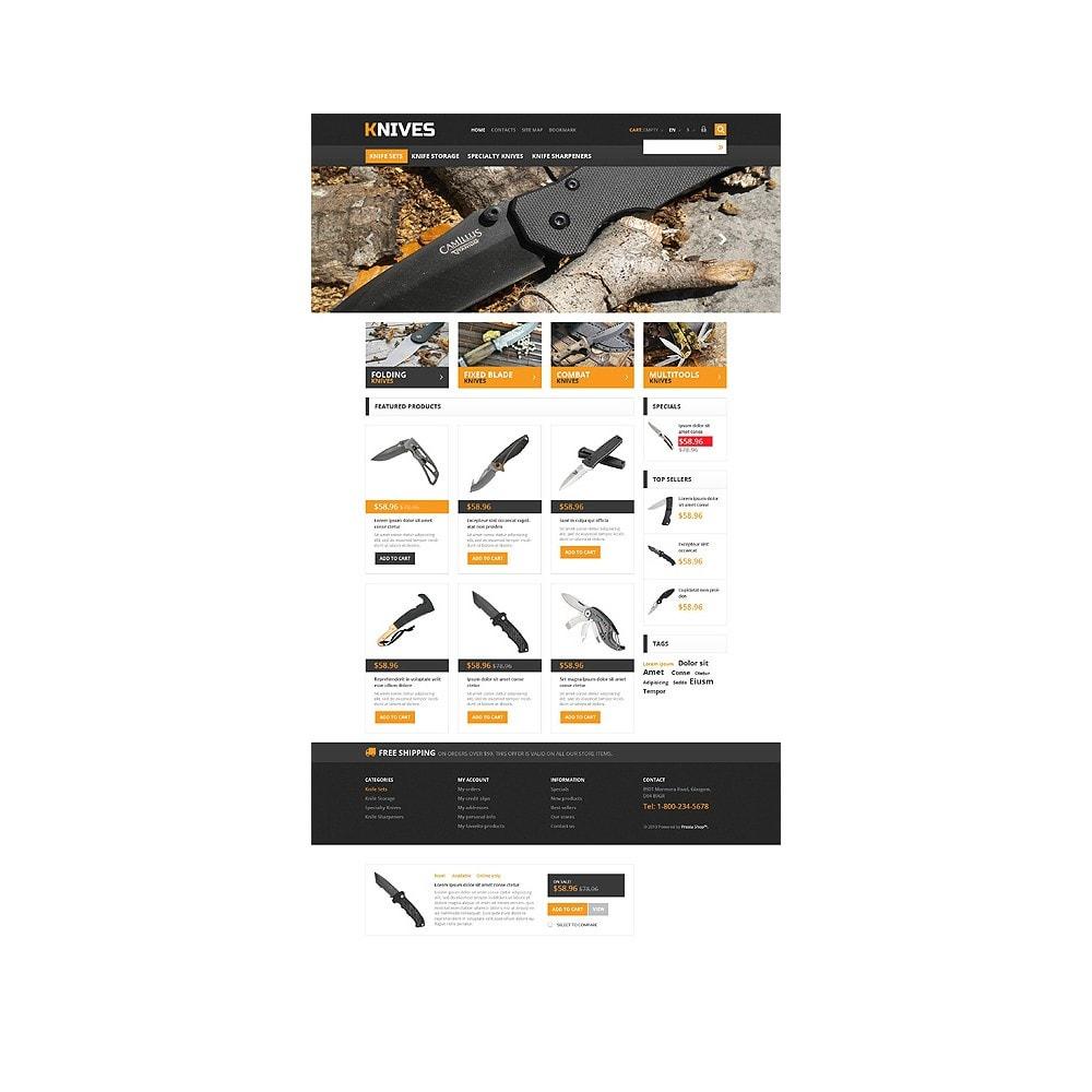 theme - Temas PrestaShop - Responsive Knives Store - 10