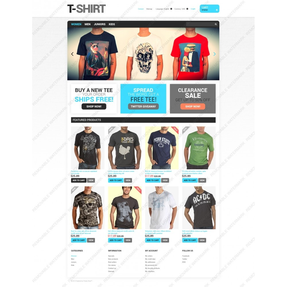 theme - Moda & Obuwie - T-Shirts for You - 3