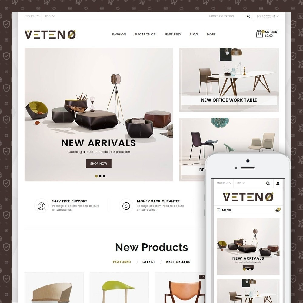 theme - Heim & Garten - Veteno - Furniture Store - 1
