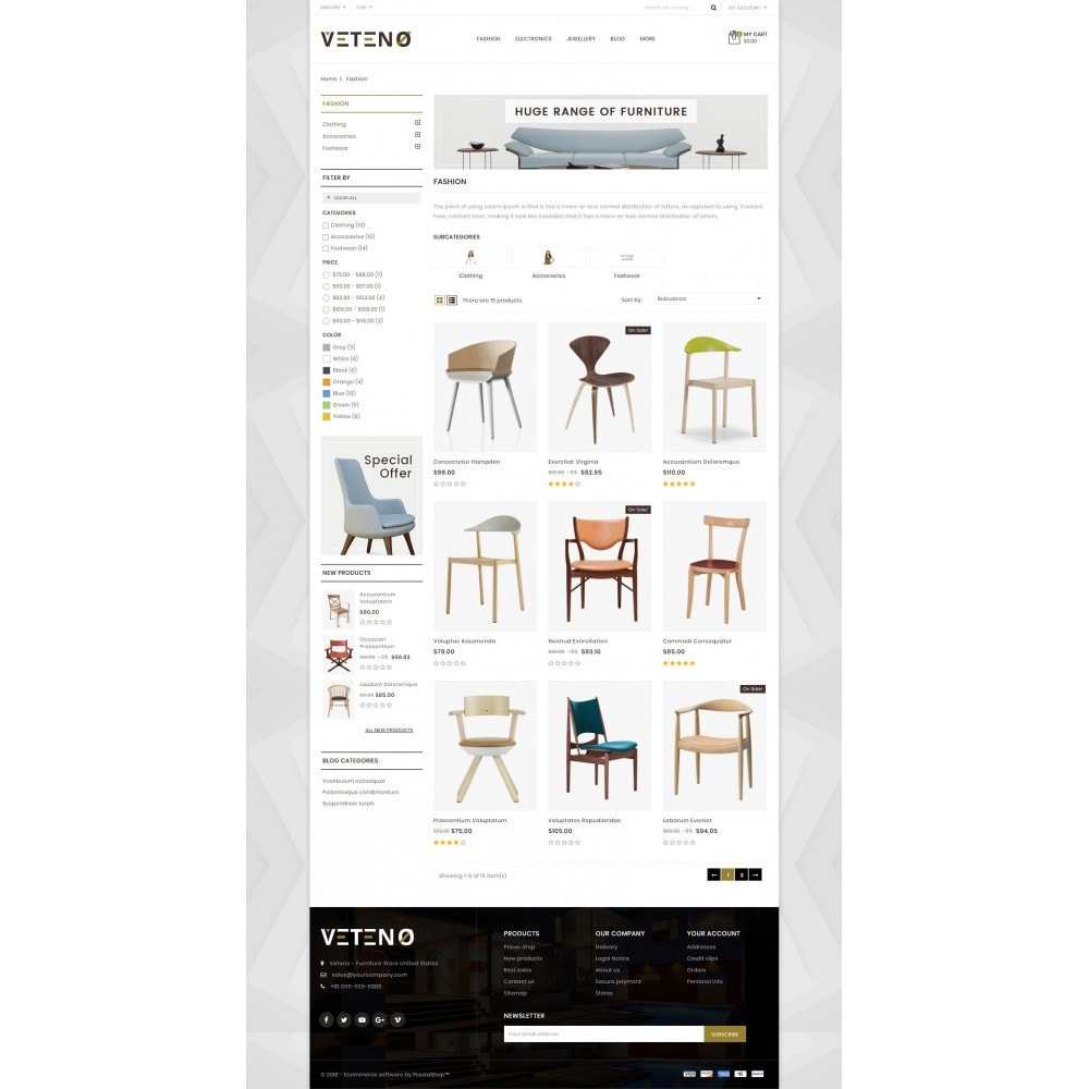 theme - Hogar y Jardín - Veteno - Furniture Store - 3