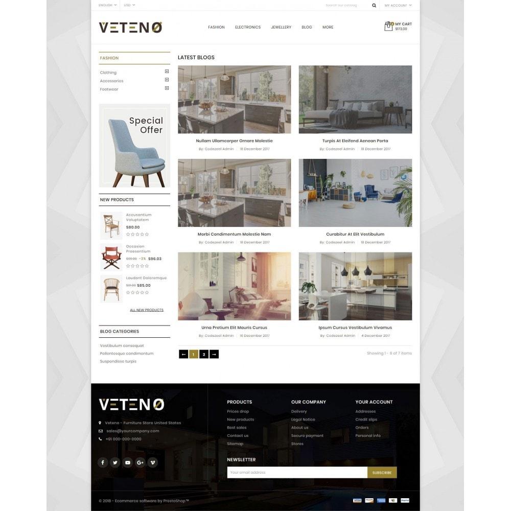 theme - Hogar y Jardín - Veteno - Furniture Store - 9