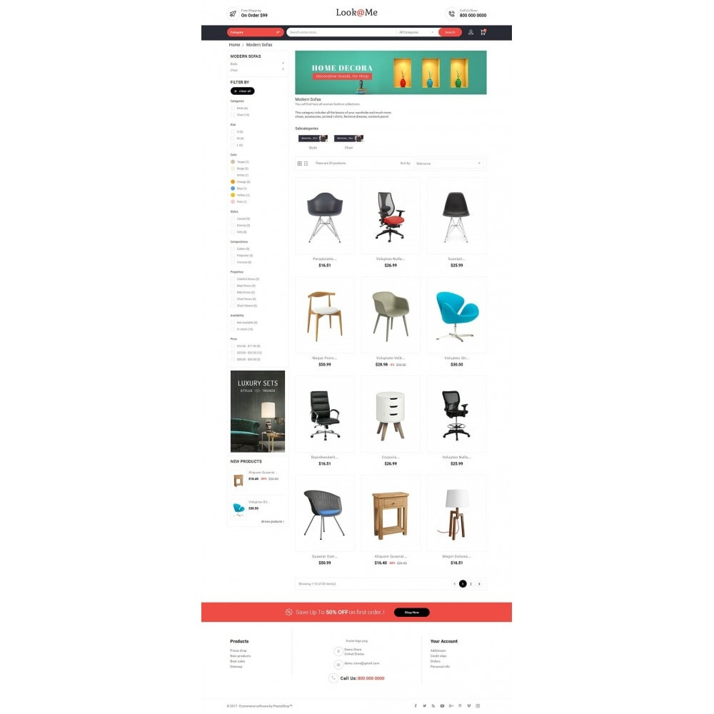 theme - Hogar y Jardín - Look me Furniture Crafts - 4