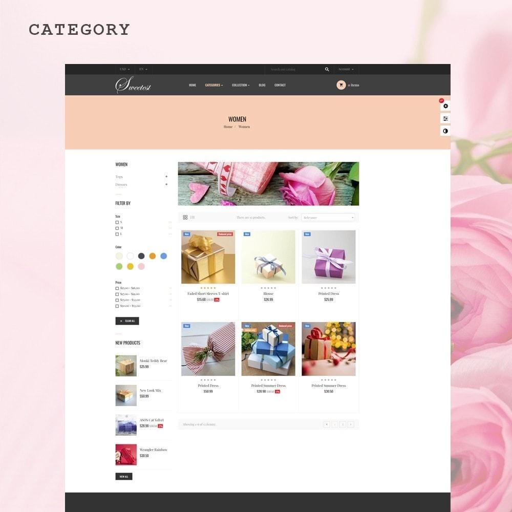 theme - Cadeaux, Fleurs et Fêtes - Leo Sweetest - 4