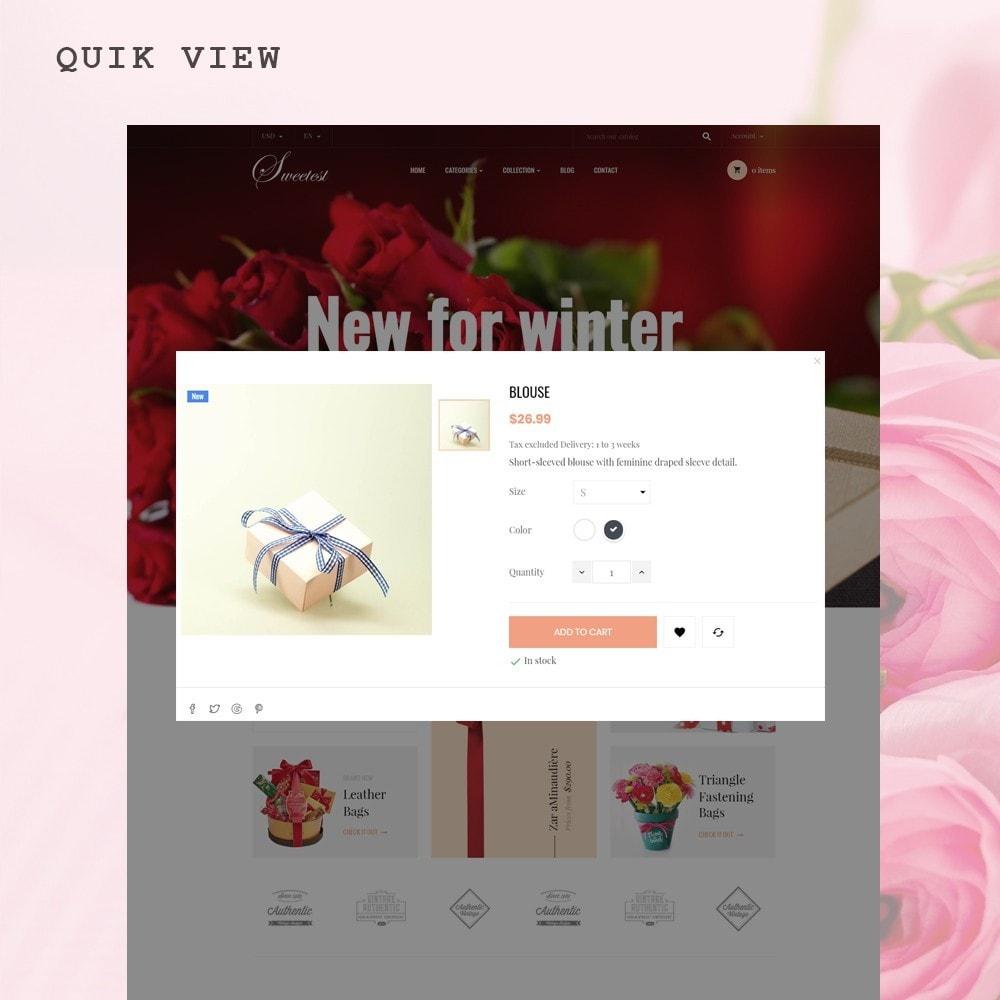 theme - Cadeaux, Fleurs et Fêtes - Leo Sweetest - 5