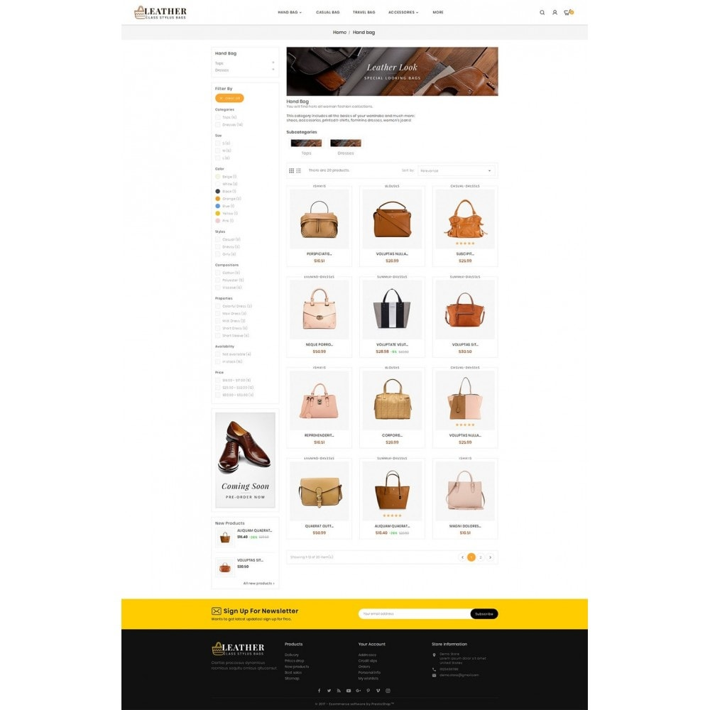theme - Mode & Chaussures - Leather Bag Crafts - 4