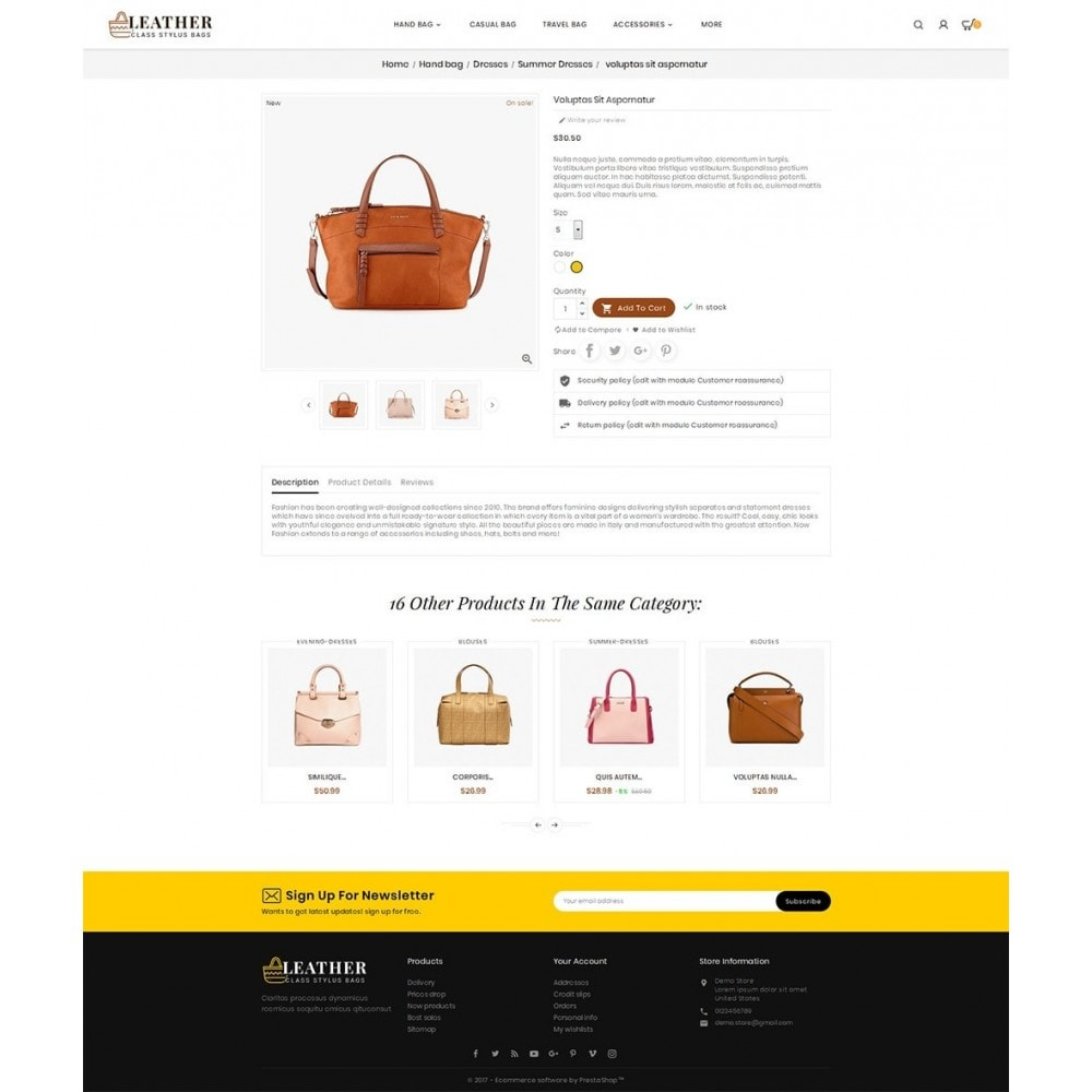 theme - Mode & Chaussures - Leather Bag Crafts - 6