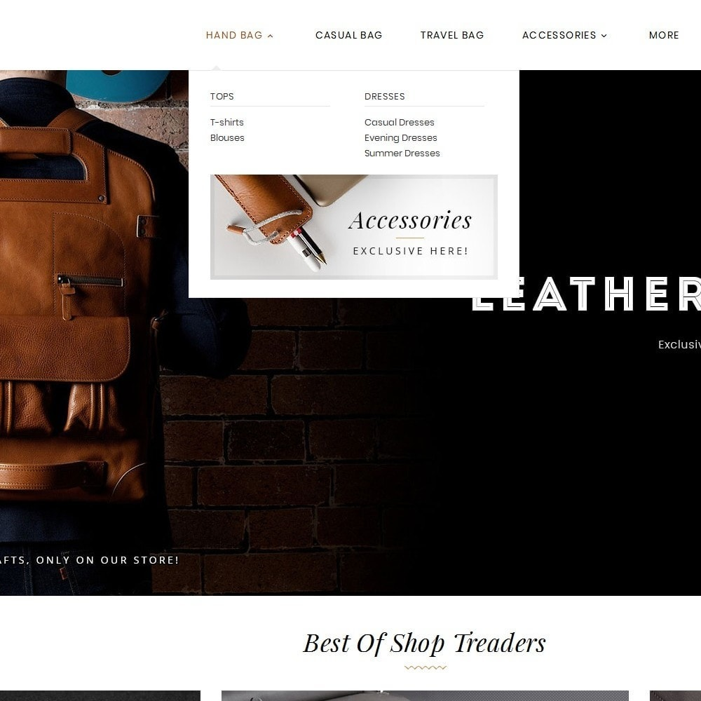 theme - Mode & Chaussures - Leather Bag Crafts - 10