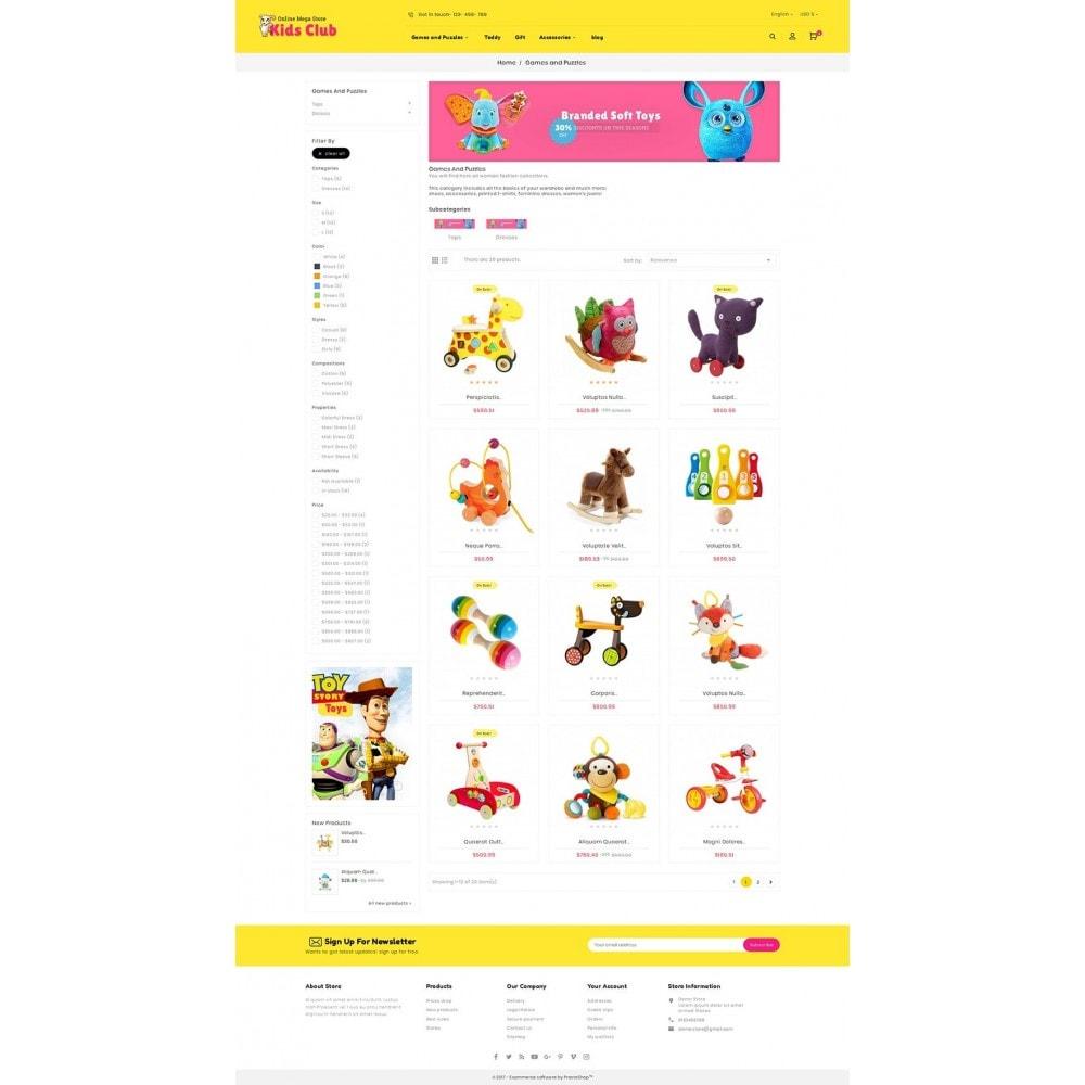 theme - Niños y Juguetes - Kids Toy Club - 4