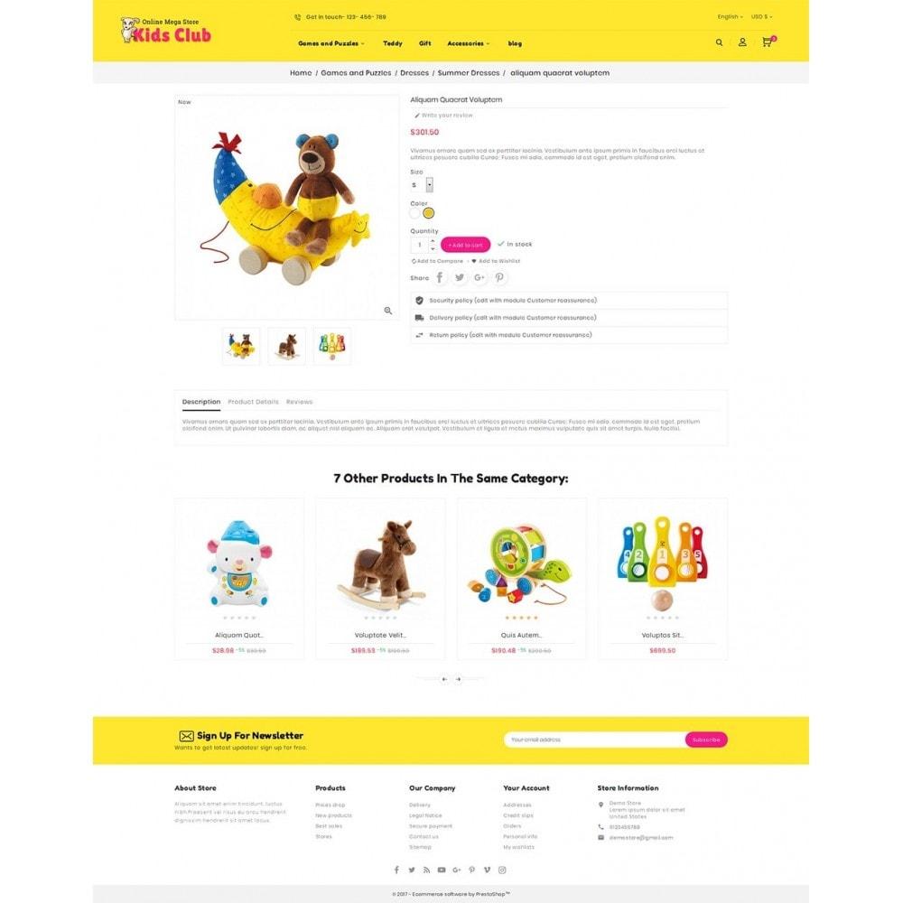 theme - Niños y Juguetes - Kids Toy Club - 6