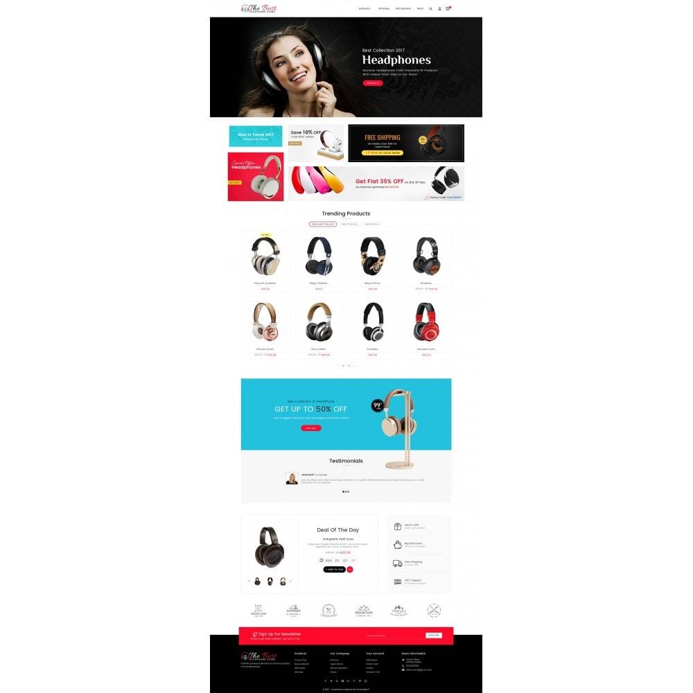 theme - Electrónica e High Tech - Headphone Store - 3