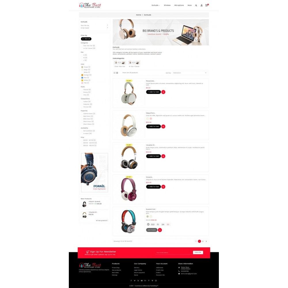 theme - Electrónica e High Tech - Headphone Store - 5