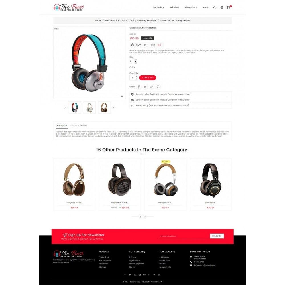 theme - Electrónica e High Tech - Headphone Store - 6