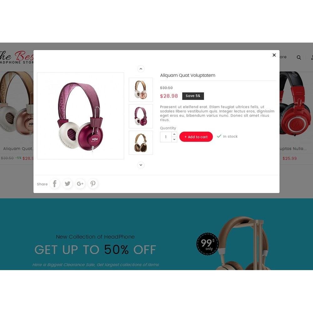 theme - Electrónica e High Tech - Headphone Store - 9