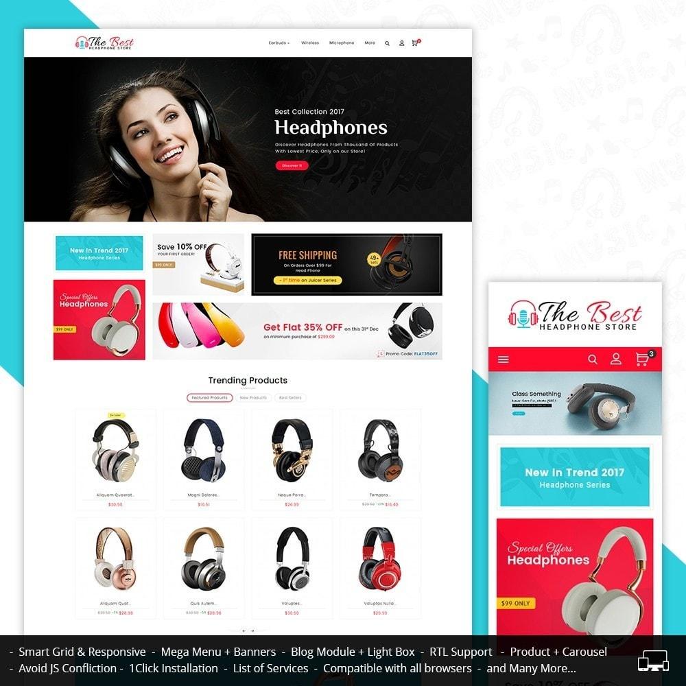 theme - Elektronik & High Tech - Headphone Store - 2