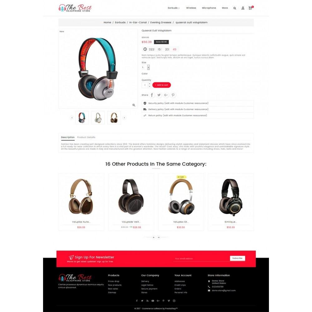 theme - Elektronik & High Tech - Headphone Store - 6